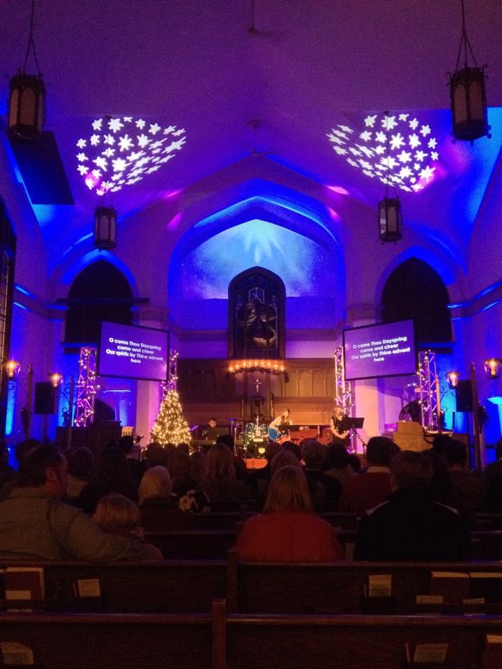Christmas Eve Lighting Design- Aldrich Avenue Church